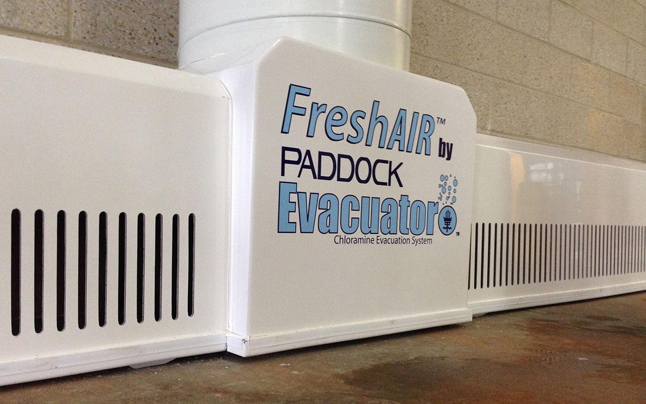 Improve Indoor Pool Air Quality With Paddock Evacuator