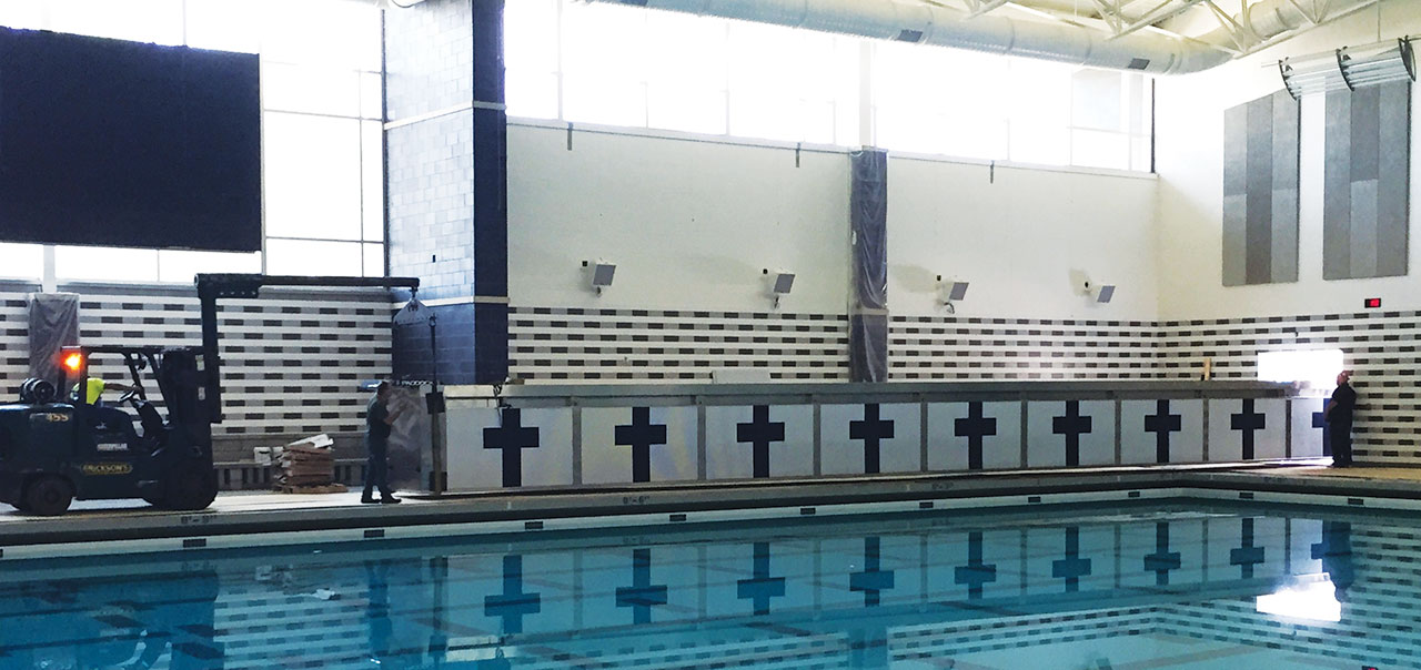 Movable Pool Bulkheads Swimming Pool Bulkhead